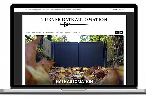An image of an automated gate